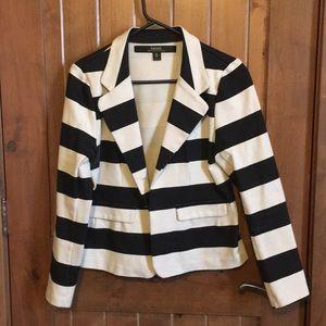 Kensie striped jacket